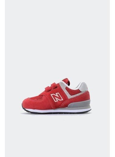 New Balance New Balance IV574RD 574 Spor Kadın Ayakkabı Kırmızı